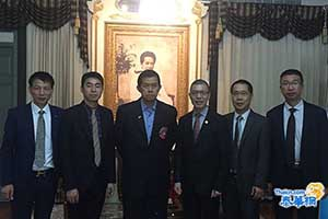泰国温州商会拜访泰中友好协会 祁晓云会长诚邀功会长出席成立庆典并给予指导