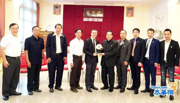 温州商会祁晓云一行访问福建会馆 特邀张建禄与诸理事出席12月12日成立大会