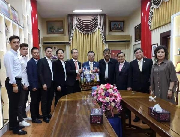 泰国温州商会拜访潮州会馆主席黄迨光博士