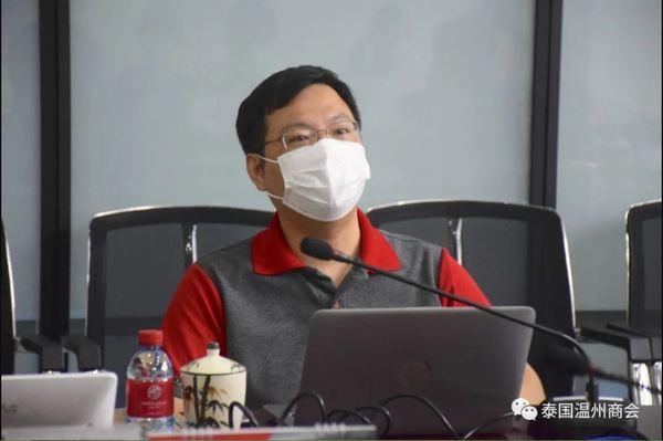泰国温州商会代表团拜访MG汽车工厂