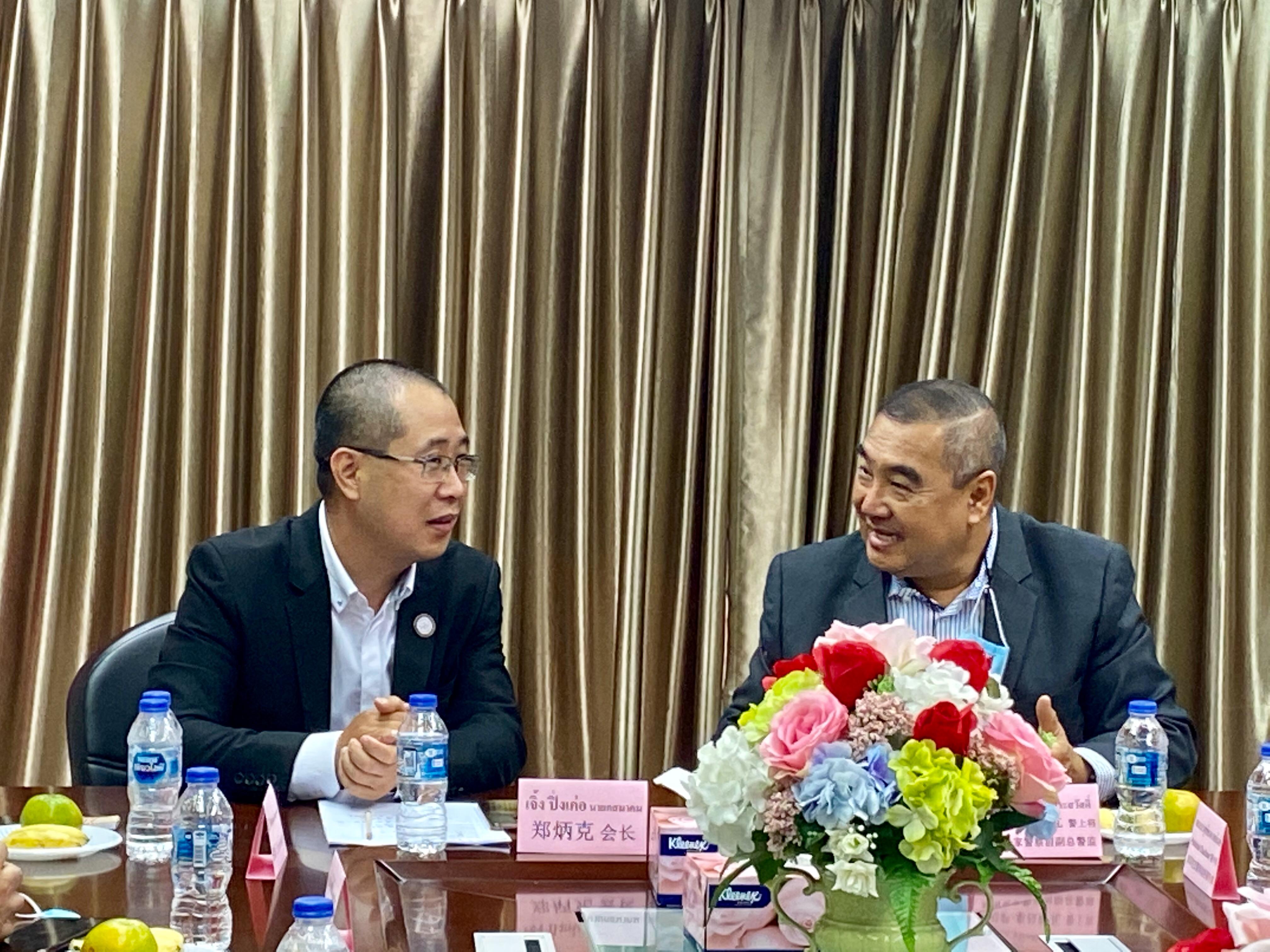 泰国温州商会热情接待泰国政府各级领导
