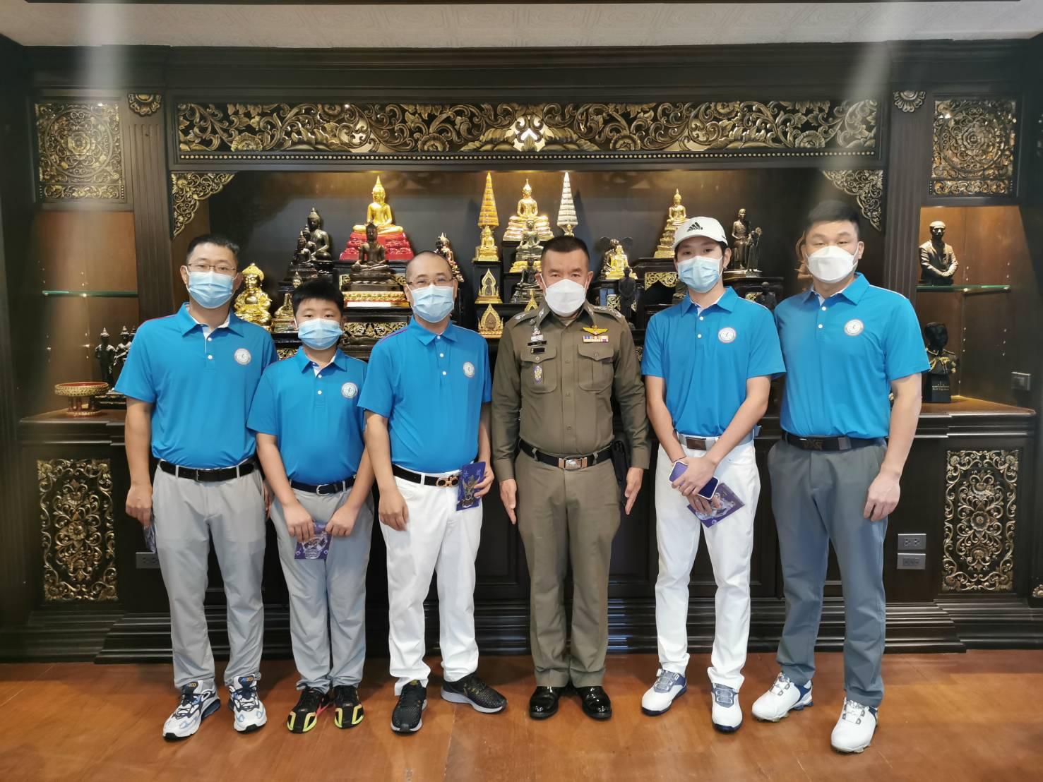 泰国温州商会拜访泰国皇家警察总局第五警区